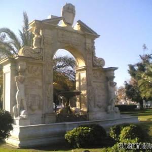 Villa comunale fontana Santa Lucia