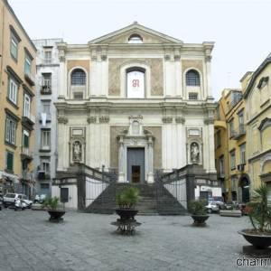 Napoli, l'ingresso del Museo diocesano