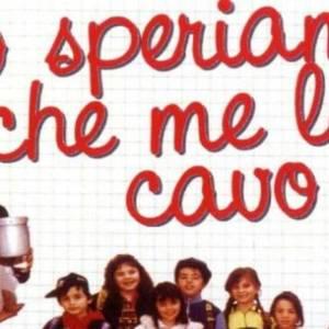 """La locandina del film """"Io speriamo che le ma cavo"""" con l'attore Paolo Villaggio"""