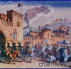 L'ingresso dei francesi a Napoli