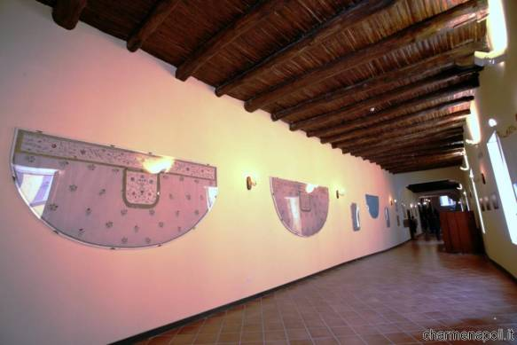 Gli interni della Chiesa del Real Monte Manso