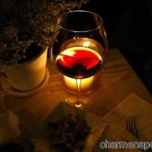 Finger food e vino rosso