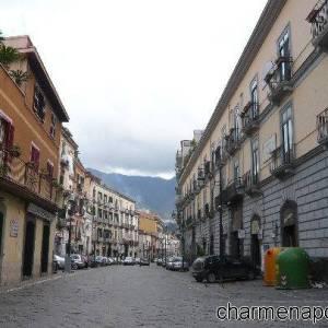 Gragnano, il centralissimo corso Via Roma