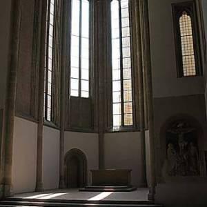 Le vetrate della chiesa