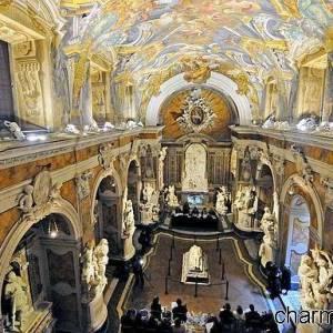 Gli interni di Cappella Sansevero