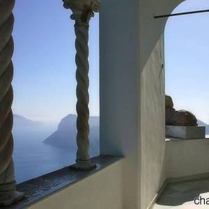 Il panorama su Anacapri