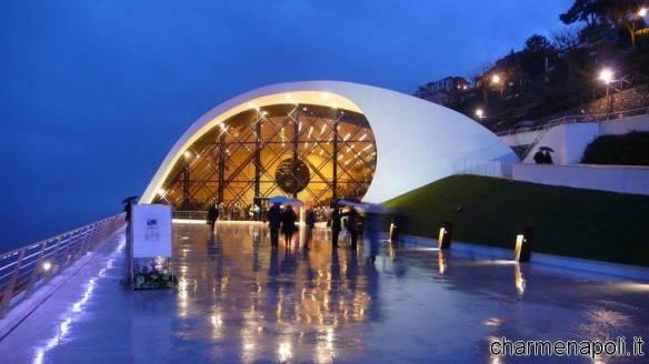 Ravello, l'Auditorium Oscar Niemeyer