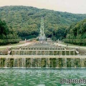 Le cascate dell'Acquedotto Carolino