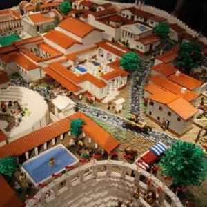 190mila mattoncini per ricostruire l'antica Pompei