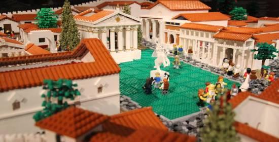 Pompei Lego