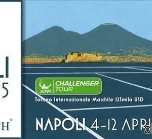 Il logo ufficiale del torneo internazionale Atp di Napoli
