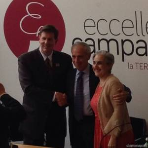 Charlie K. Fass, Paolo Scudieri e il console Colombia A. Barrosse