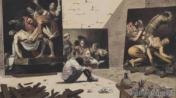 Il Caravaggio di Milo Manara
