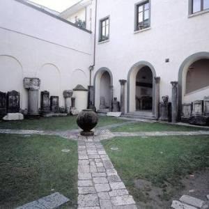 Gli interni del Museo Provinciale Campano di Capua