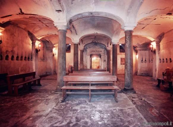 San Pietroa ad Aram, la cripta