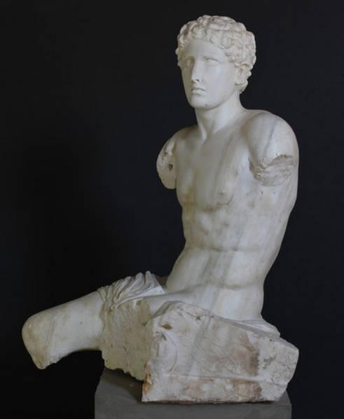 La statua di Trittolemo