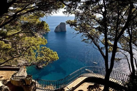 Punta Tragara a Capri