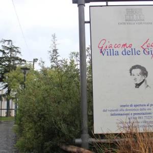 Villa delle Ginestre a Torre del Greco, dove Leopardi soggiornò dal 1836 al 1837