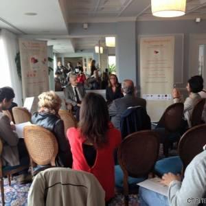 La conferenza stampa per il lancio dell'edizione napoletana di Re Panettone