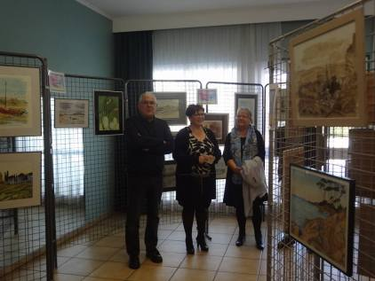 exposition d'aquarelles-Mairie Charmes Aisne-02