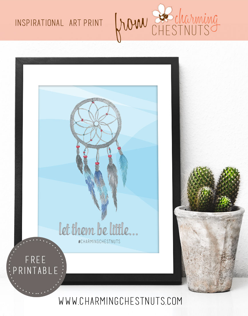 photo relating to Free Printable Inspirational Quotes called Permit them be minimal - Free of charge Printable Enthusiasm - Beautiful