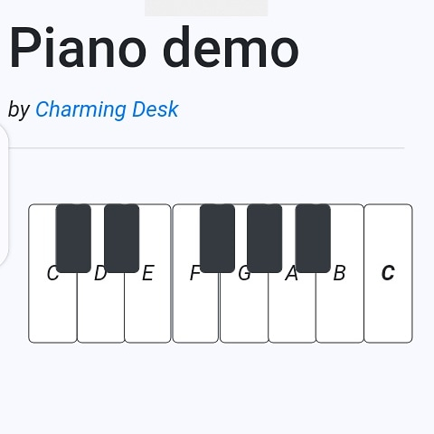 Build a web piano with JavaScript.