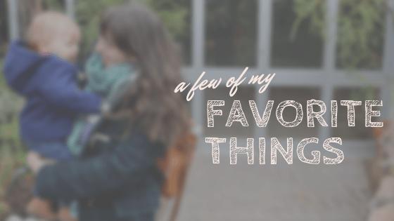 Fav Things: BABY WEARING