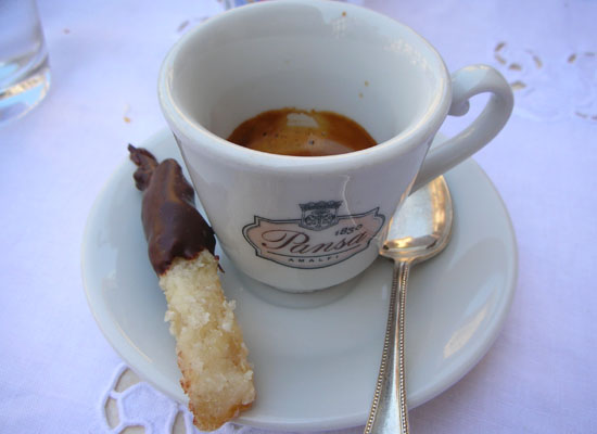 Breakfast in Amalfi