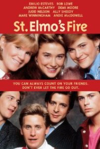 St Elmos Fire, 80s movies, Brat Pack
