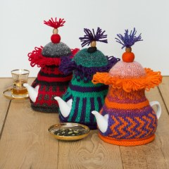 Loani Prior knitting designs | funny tea cosies