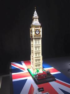 Lego Model of Big Ben by Brickman