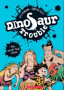 Dinosaur Trouble cover