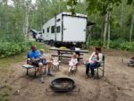 Family campsite - camping with kids