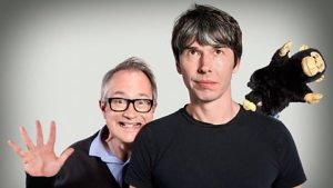 Brian Cox and Robin Ince