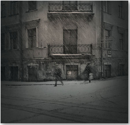 aus der Serie Black & White Magic of St. Petersburg - © Alexey Titarenko