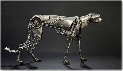 mechanischer Gepard - © Andrew Chase