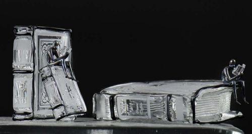 Black Libri set von Cesare Toffolo