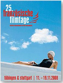 Plakat 25 Jahre Französische Filmtage