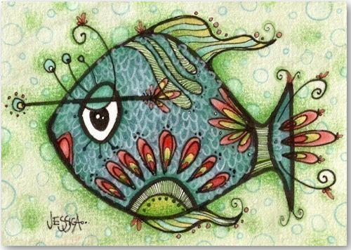 Milton The Fish - © Jessica Doyle