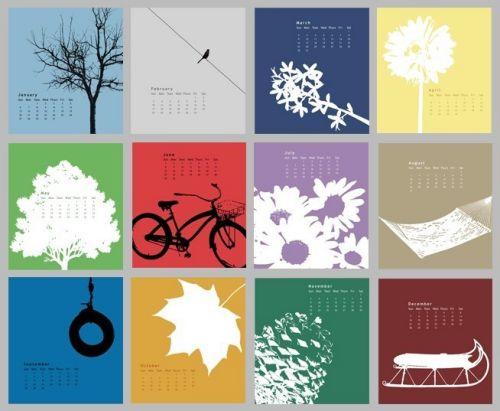 Desktopkalender - © SureAsBlue