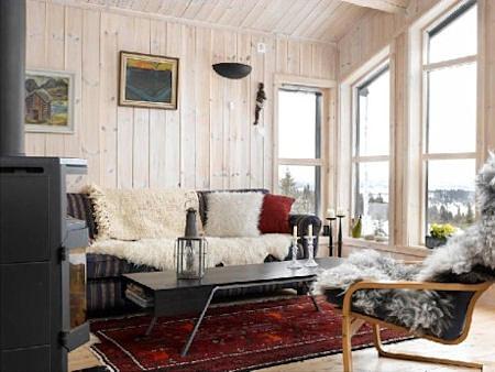 Hütten in Norwegen