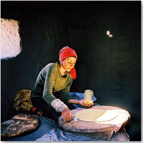 Aus der Serie Xinaliq Village - © Rena Effendi