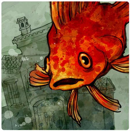 Fish Store - © Kurt and Zelda