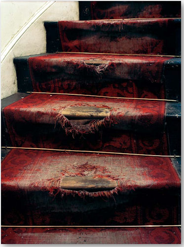 worn out stairs - © Tom Mannion