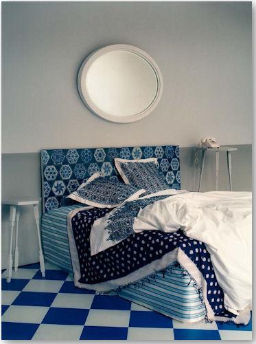 blue bed - © Tom Mannion