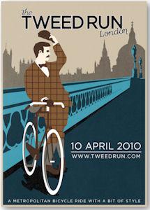 Tweed Run 2010 Plakat
