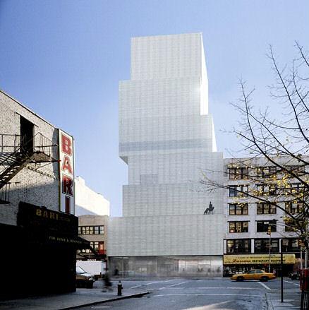 New Museum, New York by SANAA