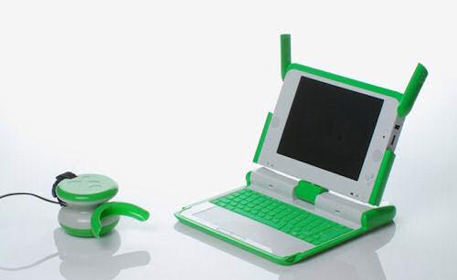 $100 laptop by Yves Behar