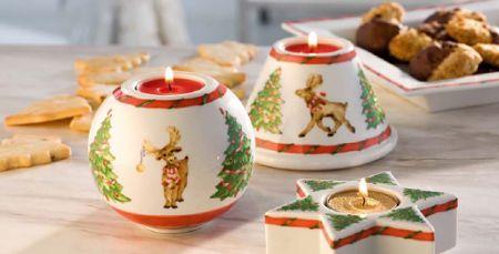 adventliche Teelichter von Hutschenreuther