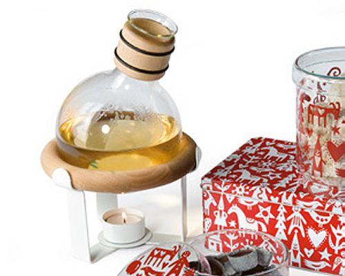 Gl?gg Flasche mit St?vchen, Keksglas und Keksdosen von Boda Nova - © Boda Nova